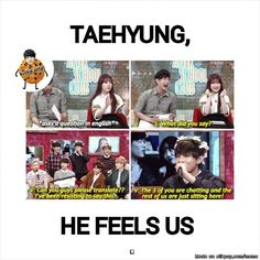 Lol V knows how we feel XD