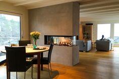 M-Design Luna panorama gasspeis dybdeformat Diamond | Varmefag - spesialister på peiser og ovner. Dining Room, Luxury, Table, Furniture, Home Decor, Vw, Kitchens, Space, Google Search