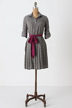 i am really into shirt-dresses lately. they (almost always) look good on me. of course this one is too pricey.