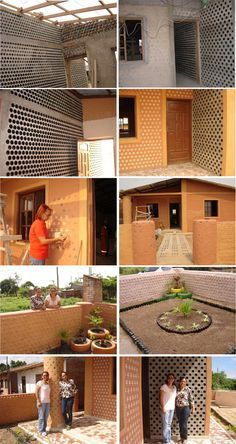 Casa de botellas Bolivia Ingrid Vaca Diez is part of Recycled house - Plastic Bottle House, Reuse Plastic Bottles, Recycled Bottles, Earth Bag Homes, Earthship Home, Recycled House, Eco Buildings, Natural Building, Interior Design Inspiration