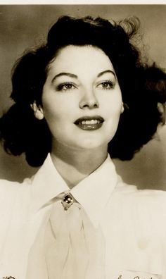 She had this natural poignancy and her feelings ran very deep. To my mind she developed into a fine actress. I've been telling her that for years, and she always waves it off. - Gregory Peck about Ava Gardner