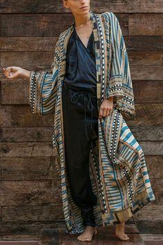 Geometey Print Bleted Cover Up – Chicmony Kimono Dress, Boho Dress, Bathing Suit Covers, Bathing Suits, Long Sleeve Kimono, Zara, Stripes Fashion, Beachwear, Swimwear