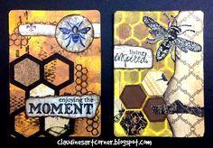 Claudine's Art Corner: Altered Playing Card Challenge Week 13; Dec 2014