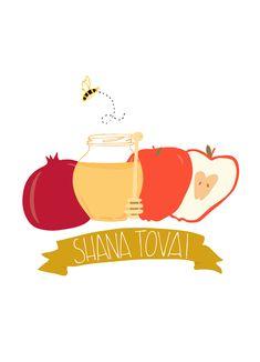 Free printable shanah tova cards for rosh hashanah my free rosh hashanah card shana tova jewish new year jewish greeting card apple m4hsunfo