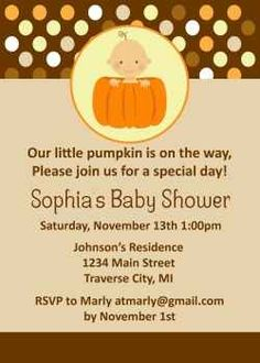 How To Throw a Pumpkin Themed Baby Shower For Fall Or Autumn Showers