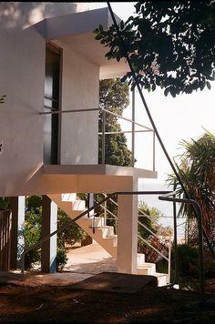 E1027 | Eileen Gray's house // <3 <3 // the house in Roquebrune (Cap Martin) France