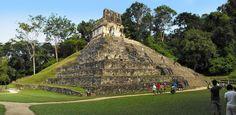 Mayan Ruins at Palenque Chiapas Mexico