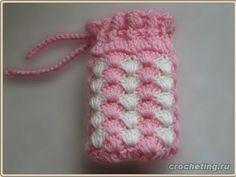 crochet phone case-free pattern