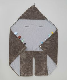 Love this 36'' x 44'' Gray Car Seat Blanket on #zulily! #zulilyfinds