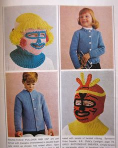Interesting vintage Ski Mask's ((O . O))