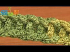 ▶ Crochet Braided Cord Tutorial 56 Crochet Belts Necklaces Bracelets - YouTube