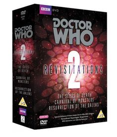 Amazon.fr - Doctor Who - Revisitations Box Set Volume 2: The Seeds of Death / Carnival of Monsters / Resurrection of the Daleks [Import anglais] - Frazer Hines, Claire Louise Amias, David Tennant, Christopher H. Bidmead, Fiona Cumming, Peter Davison, Janet Fielding, Barry Letts, Steven Moffat, John Nathan-Turner, David Reid, Antony Root, Ed Stradling, Marcus Hearn : DVD & Blu-ray