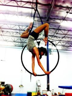 A beautiful lyra pose from one of my circus girls. ;)