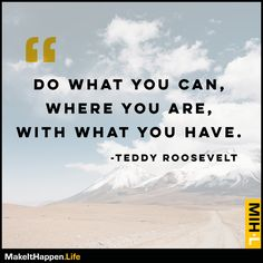 """Don't worry about what you """"don't"""" have. Focus on what you do have and know that you have enough to make it happen! ???? • Visit https://www.makeithappen.life/ • #motivation #success #inspiration #inspirational #entrepreneur #business #quotes #love #fitness"""