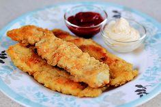Dedos de Pollo (Chicken Fingers) - Deliciosa receta americana que los niños adoran!