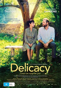 Delicacy (Delicatesse).  Beautiful film.  Made me laugh so much and cry lots too.  I love Audrey Tautou!