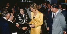 Michael Jackson, Princess Diana and Prince Charles.