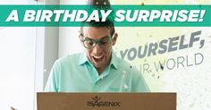 In honor of Senior Vice President of Global Field Development Erik Coover's birthday this month, Isagenix is offering free* membership for new Associates! An Isagenix membership is always a great value, so don't let your new members miss out on joining Isagenix with this special birthday promotion. Enjoy! And happy birthday, Erik!