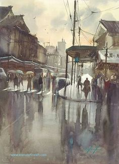 Keiko Tanabe - water color
