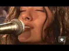 """Aline Duran em """"Natty Dread"""" no Estúdio Showlivre 2008"""
