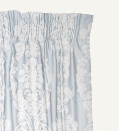Bedroom: Curtain - also available in stone, which I think would look a little warmer, esp now that winter's setting in. Too awesome. from Woolworths. Damask, Baroque, Cribs, Living Spaces, Online Shopping, Cushions, Curtains, Stone, Bedroom