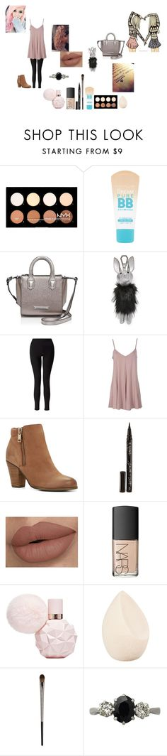 """""""Untitled #606"""" by cuddles2199 ❤ liked on Polyvore featuring NYX, Maybelline, Kendall + Kylie, Miss Selfridge, ALDO, Smith & Cult, NARS Cosmetics, Christian Dior, Urban Decay and Trilogy"""