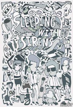 sleeping with sirens by anandabwp kellin quinn jesse lawson gabe barham jack