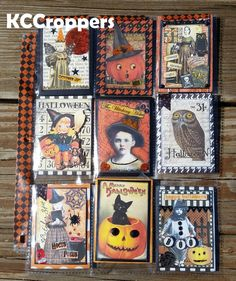 KC Croppers: Halloween Pocket Letters