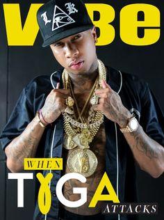 Tyga Disses Drake & Explains His Relationships With Blac Chyna And Kylie Jenner In Vibe Magazine Drake Nicki Minaj, Nicki And Drake, King Rapper, Marley Twist Hairstyles, History Of Hip Hop, Vibe Magazine, Dance Movies, Hip Hop News, Tyga
