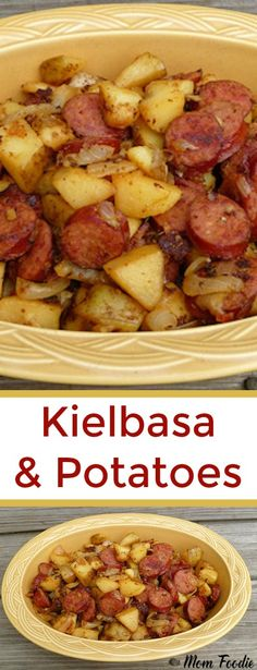 Kielbasa and Potatoes RecipeYou can find Kielbasa recipes and more on our website.Kielbasa and Potatoes Recipe Easy Kielbasa Recipes, Polish Sausage Recipes, Smoked Sausage Recipes, Easy Potato Recipes, Crockpot Keilbasa Recipes, Cooking Kielbasa, Recipes With Sausage Easy, Polish Keilbasa Recipes, Recipes With Sausage Kielbasa