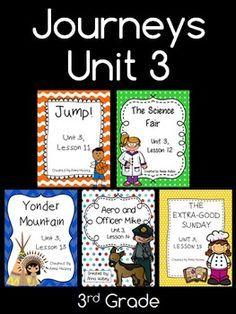 A fine fine school journeys third grade print and go activities journeys unit 3 third grade fandeluxe Image collections