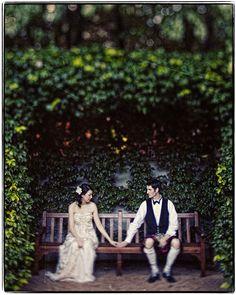 Wedding photography - Garden wedding