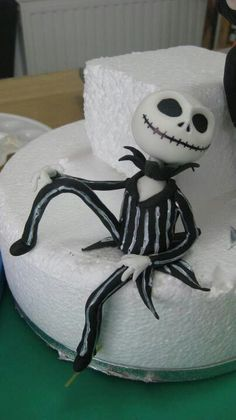 The Nightmare Before Christmas, Jack Skellington #cake #topper