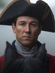 Tobias Menzies as Frank/Black Jack Randall - Outlander on STARZ