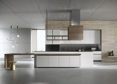 Luxury Kitchen Design, Luxury Kitchens, Interior Design Kitchen, Home Kitchens, Modern Kitchens, Modern Kitchen Cabinets, Wooden Kitchen, New Kitchen, Küchen Design