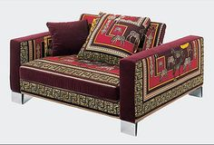 Jaipur Armchair - Versace Home Collection