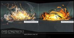 ArtStation - dishonored 2 FX STUDY, mathieu reydellet