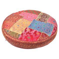 Sari Round Pillow // perfect for after yoga
