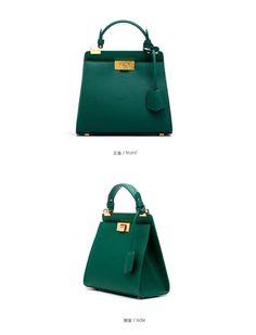 Genuine Leather Shoulder Handbag - odells Fashion Marketing, Shoulder Handbags, Hermes Kelly, Leather, Hermes Kelly Bag