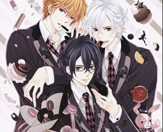 Natsume, Tsubaki, and Azusa
