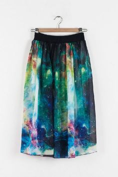 #Oas`ap                   #Skirt                    #Celestial #Print #Skirt #OASAP.com                 Celestial Print Skirt - OASAP.com                                             http://www.seapai.com/product.aspx?PID=1004307