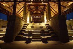 ~ Bulgari Resort, #Bali (so beautiful!!) #lighting #ideas