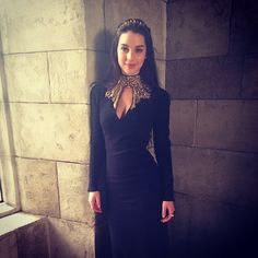 LOVE this dress! No way was a Queen allowed to wear something so risqué though ;) But I sure would! #Reign #WhataDress
