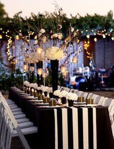 Featured Photographer: Kimberly Kay Photography; Wedding reception idea