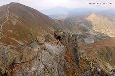 Rohace in Slovakia in Western Tatras Steep Rock, Westerns, Trail, Mountains, Bergen