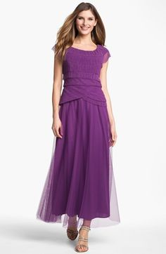 Patra  Pleated Cap Sleeve Gown   Be the first to write a review   ask a question  Regular$178.00