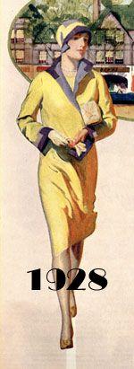 1928 Fashion Illustration