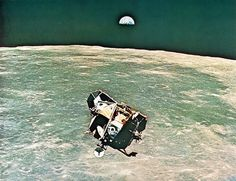 Apollo 11 rendezvous by San Diego Air & Space Museum Archives, via Flickr