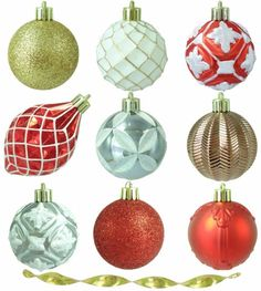 Pepperberry Lane Shatter-Resistant Ornament Christmas Tree Decor (101-Count) #Ornaments #ShaterResistant #Pepperberry #Lane #ChristmasDecor #ChristmasTreeDecor #TreeDecor #Decor #Christmas #101Count #PepperberryLane