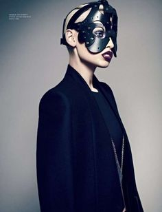 The L'Officiel Ukraine November 2011 Shoot Has Fierce Fashion Flow trendhunter.com